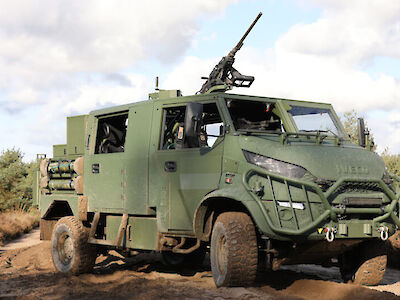 Mission possible - Dutch Military Vehicles bouwt nieuwe Defensie voertuigen